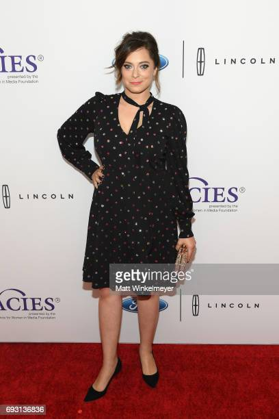 Actress Rachel Bloom attends the 42nd Annual Gracie Awards at the Beverly Wilshire Hotel on June 6 2017 in Beverly Hills California