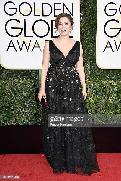 Actress Rachel Bloom attends the 74th Annual Golden Globe Awards at The Beverly Hilton Hotel on January 8 2017 in Beverly Hills California