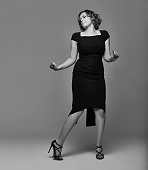 Actress Rachel Bloom is photographed for Back Stage on January 14 in New York City