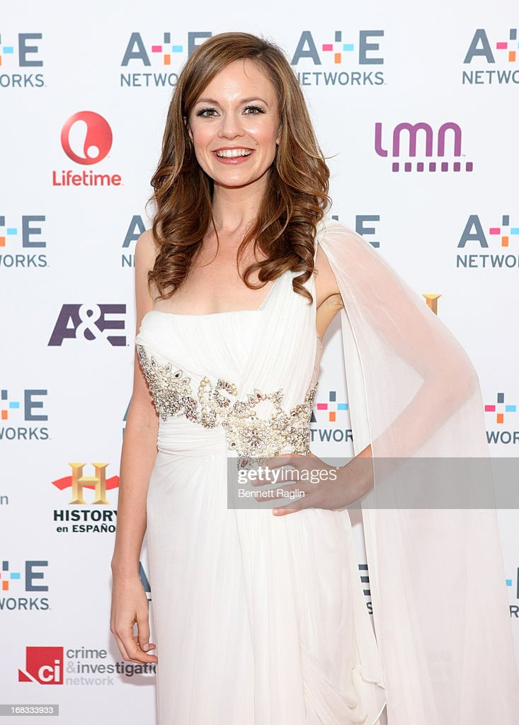 Actress Rachel Boston attends the 2013 A+E Networks Upfront at Lincoln Center on May 8, 2013 in New York City.