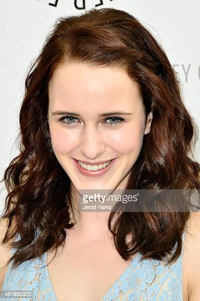 Actress Rachel Brosnahan arrives at the Paley Center for Media Presents an evening with WGN America's 'Manhattan' at the Paley Center for Media on...