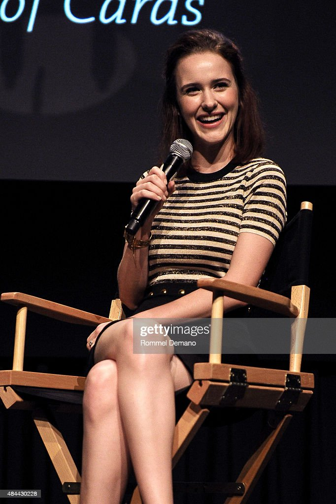 "SAG Foundation And Backstage Conversations Emmy Series With Rachel Brosnahan Of ""House Of Cards"""