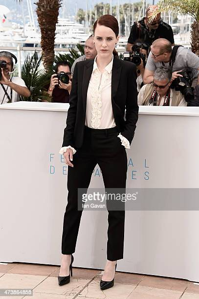 Actress Rachel Brosnahan attends the 'Louder Than Bombs' Photocall during the 68th annual Cannes Film Festival on May 18 2015 in Cannes France
