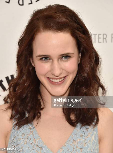 Actress Rachel Brosnahan attends The Paley Center For Media Presents An Evening With WGN America's 'Manhattan' at The Paley Center for Media on July...