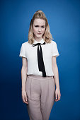 Actress Rachel Brosnahan poses for a portrait at the Tribeca Film Festival on April 16 2016 in New York City