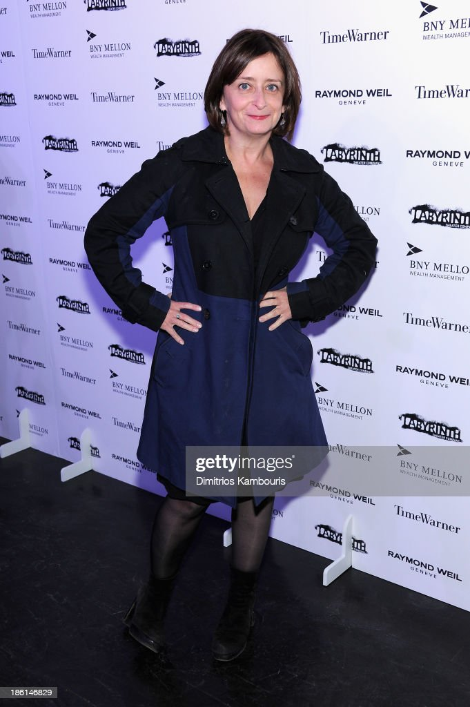 Actress <a gi-track='captionPersonalityLinkClicked' href=/galleries/search?phrase=Rachel+Dratch&family=editorial&specificpeople=209387 ng-click='$event.stopPropagation()'>Rachel Dratch</a> attends LAByrinth Theater Company Celebrity Charades 2013 Benefit Gala on October 28, 2013 in New York City.