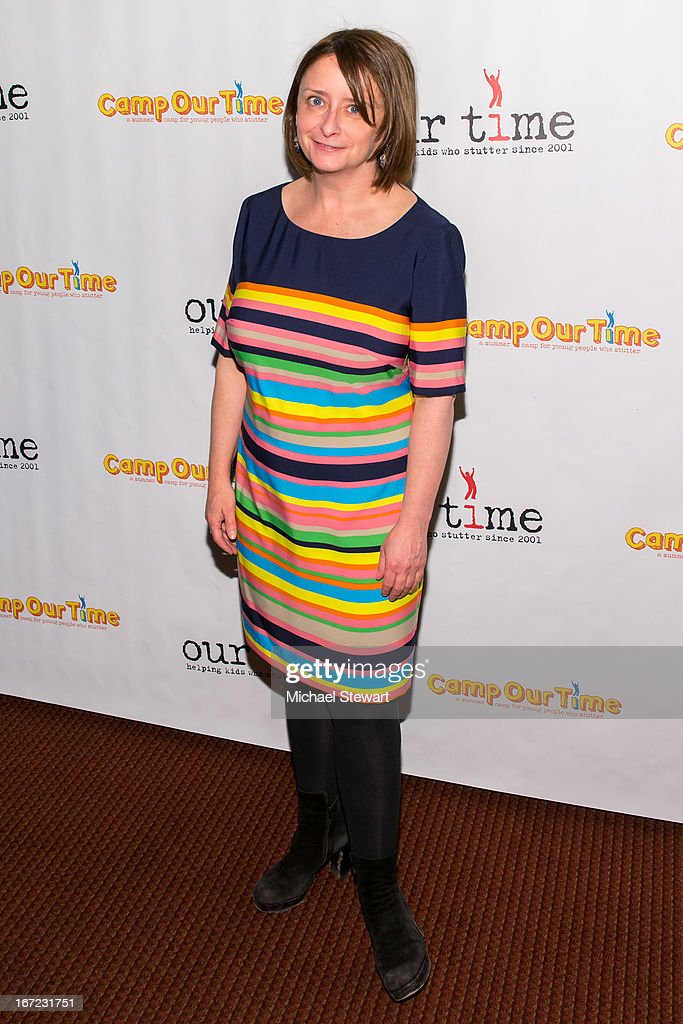 Actress <a gi-track='captionPersonalityLinkClicked' href=/galleries/search?phrase=Rachel+Dratch&family=editorial&specificpeople=209387 ng-click='$event.stopPropagation()'>Rachel Dratch</a> attends Our Time's 11th Annual Benefit Gala at the Jack H. Skirball Center for the Performing Arts on April 22, 2013 in New York City.