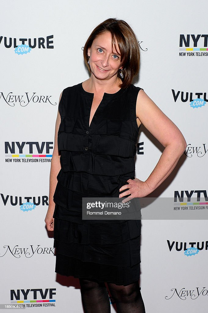 Actress Rachel Dratch attends the 9th Annual New York Television Festival - Long Day's Journey Into Late Night: The Politics Of Funny at SVA Theater on October 23, 2013 in New York City.