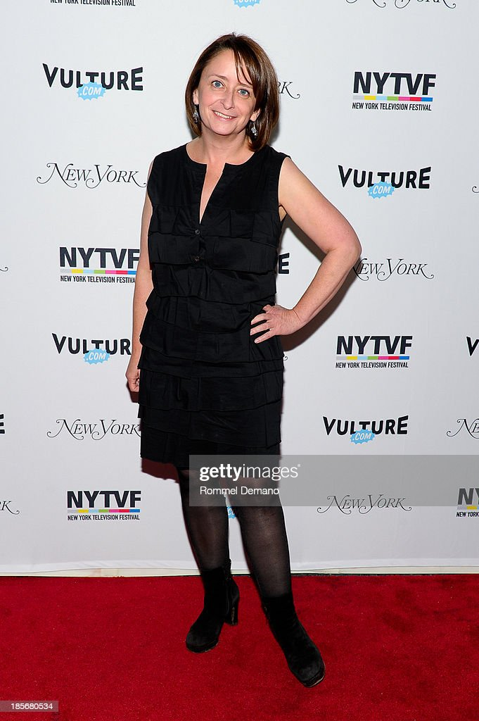 Actress <a gi-track='captionPersonalityLinkClicked' href=/galleries/search?phrase=Rachel+Dratch&family=editorial&specificpeople=209387 ng-click='$event.stopPropagation()'>Rachel Dratch</a> attends the 9th Annual New York Television Festival - Long Day's Journey Into Late Night: The Politics Of Funny at SVA Theater on October 23, 2013 in New York City.