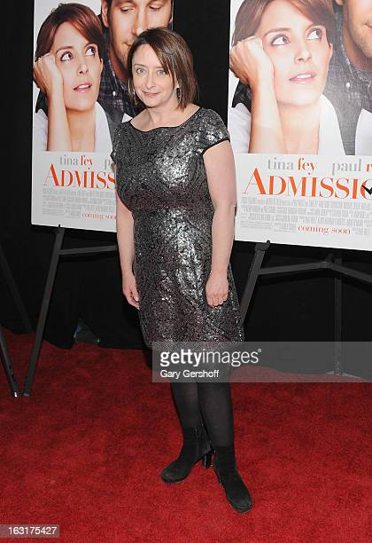 Actress Rachel Dratch attends the 'Admission' New York premiere at AMC Loews Lincoln Square 13 on March 5 2013 in New York City