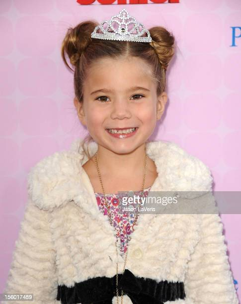 Actress Rachel Eggleston attends the premiere of 'Sofia The First Once Upon a Princess' at Walt Disney Studios on November 10 2012 in Burbank...