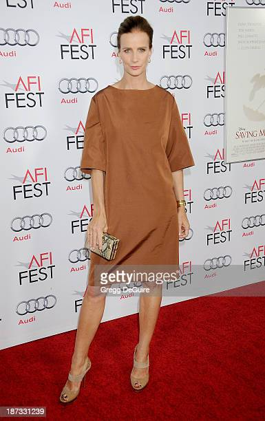 Actress Rachel Griffiths arrives at AFI FEST 2013 Opening Night Gala premiere of 'Saving Mr Banks' at TCL Chinese Theatre on November 7 2013 in...