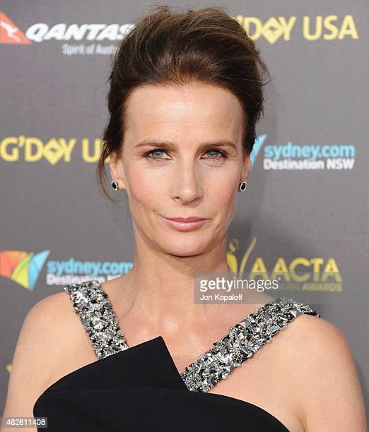 Actress Rachel Griffiths arrives at the 2015 G'Day USA Gala Featuring The AACTA International Awards Presented By Qantas at Hollywood Palladium on...