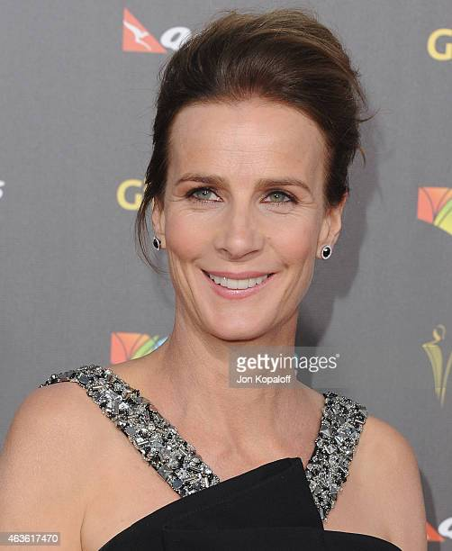 Actress Rachel Griffiths arrives at the 2015 G'Day USA Gala Featuring The AACTA International Awards Presented By Quantas at Hollywood Palladium on...