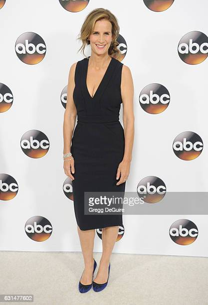 Actress Rachel Griffiths arrives at the 2017 Winter TCA Tour Disney/ABC at the Langham Hotel on January 10 2017 in Pasadena California