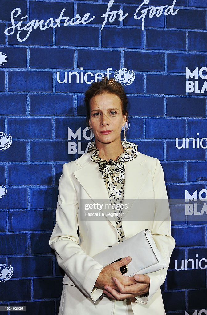Actress Rachel Griffiths attends a Pre-Oscar charity brunch hosted by Montblanc and UNICEF to celebrate the launch of their new 'Signature For Good 2013' Initiative with special guest Hilary Swank at Hotel Bel-Air on February 23, 2013 in Los Angeles, California.