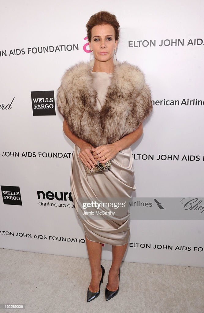Actress Rachel Griffiths attends the 21st Annual Elton John AIDS Foundation Academy Awards Viewing Party at West Hollywood Park on February 24, 2013 in West Hollywood, California.