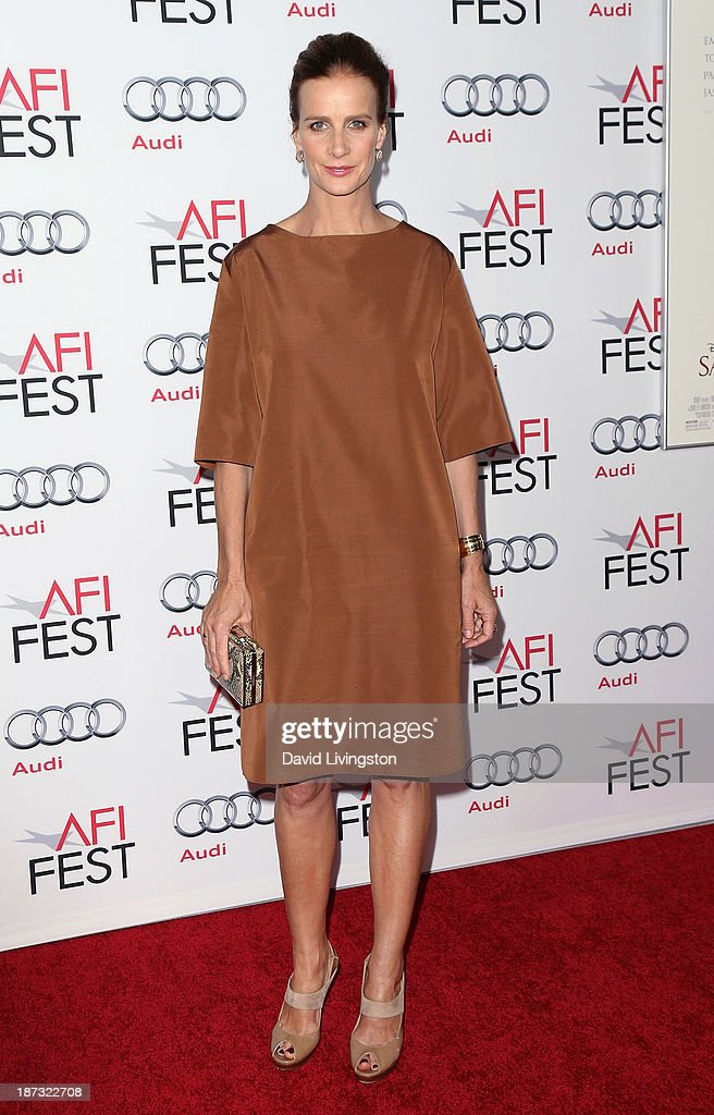 Actress <a gi-track='captionPersonalityLinkClicked' href=/galleries/search?phrase=Rachel+Griffiths&family=editorial&specificpeople=208839 ng-click='$event.stopPropagation()'>Rachel Griffiths</a> attends the AFI FEST 2013 presented by Audi premiere of Walt Disney Pictures' 'Saving Mr. Banks' at TCL Chinese Theatre on November 7, 2013 in Hollywood, California.