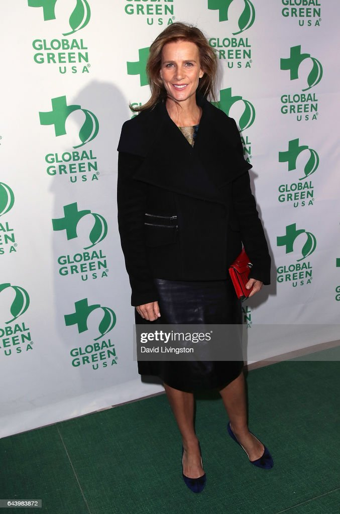 Actress Rachel Griffiths attends the14th Annual Global Green Pre-Oscar Gala at TAO Hollywood on February 22, 2017 in Los Angeles, California.