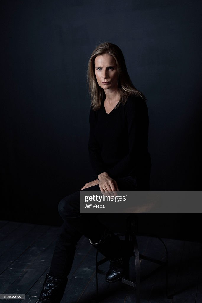 Actress Rachel Griffiths of 'Mammal' poses for a portrait at the 2016 Sundance Film Festival on January 23, 2016 in Park City, Utah.