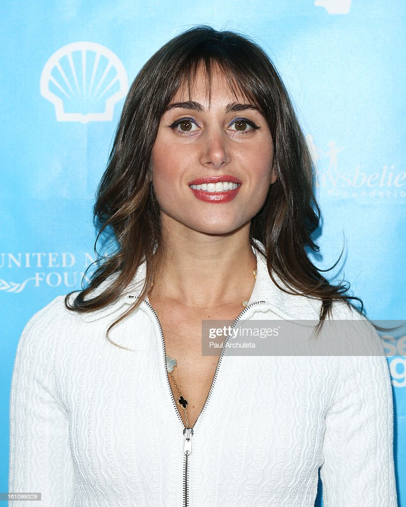 Actress Rachel Heller attends the 'mPowering Action' platform launch at The Conga Room at L.A. Live on February 8, 2013 in Los Angeles, California.
