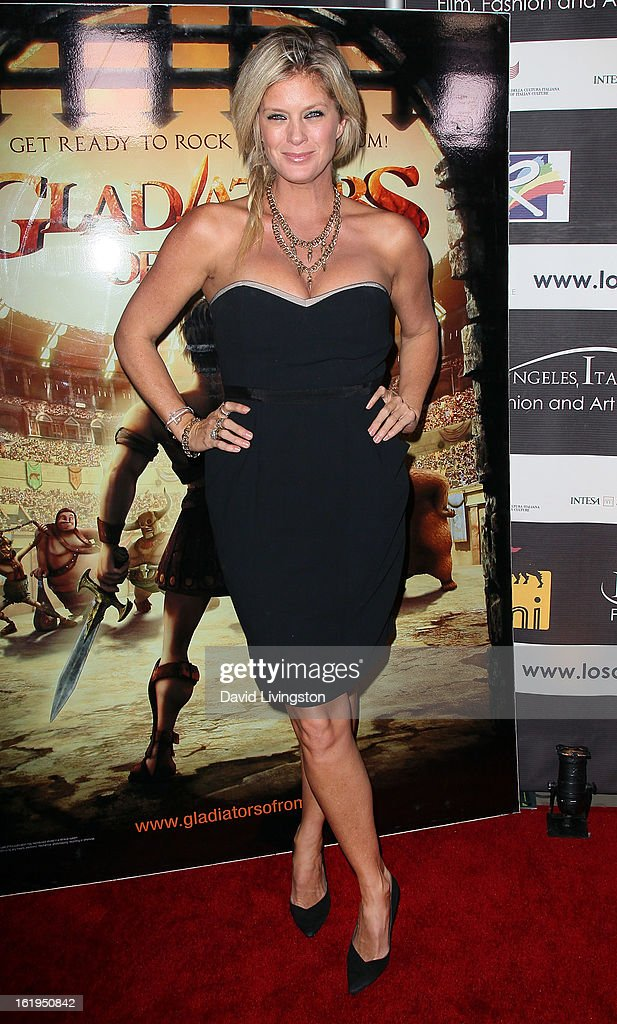 Actress Rachel Hunter attends the 8th Annual Los Angeles Italia Film, Fashion and Art Festival Opening Night Gala at the Mann Chinese 6 on February 17, 2013 in Los Angeles, California.
