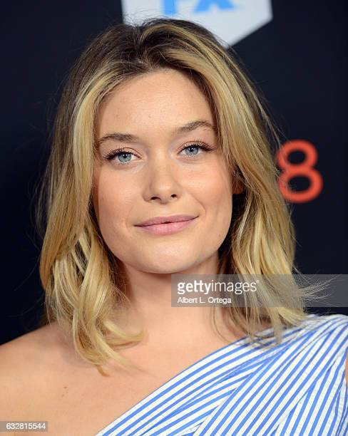 Actress Rachel Keller arrives for the Premiere Of FX's 'Legion' held at Pacific Design Center on January 26 2017 in West Hollywood California