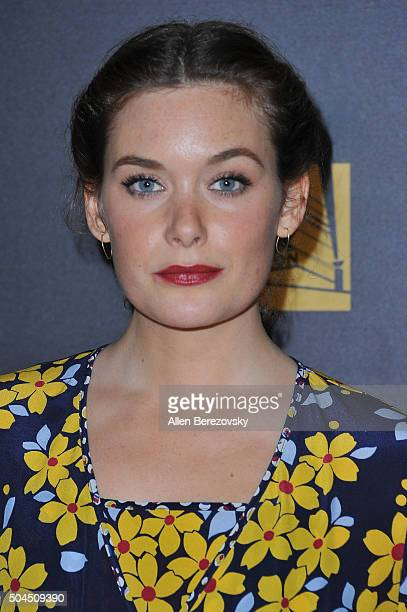 Actress Rachel Keller attends Fox And FX's 2016 Golden Globe Awards Party on January 10 2016 in Beverly Hills California