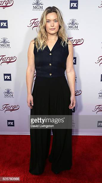 Actress Rachel Keller attends the For Your Consideration event for FX's 'Fargo' at Paramount Pictures on April 28 2016 in Los Angeles California
