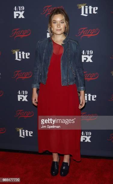 Actress Rachel Keller attends the FX Network 2017 AllStar Upfront at SVA Theater on April 6 2017 in New York City