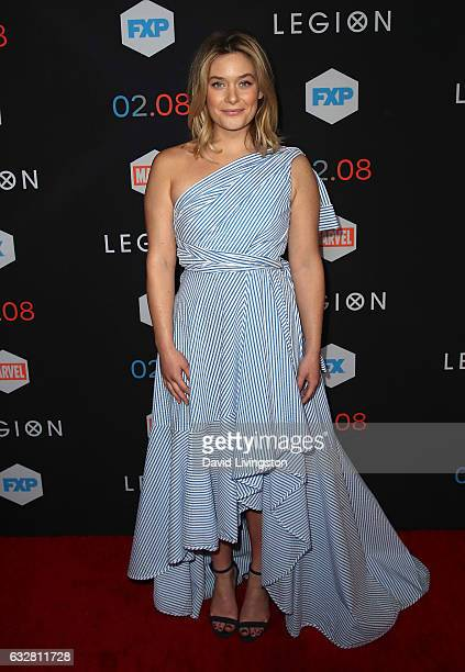 Actress Rachel Keller attends the premiere of FX's 'Legion' at Pacific Design Center on January 26 2017 in West Hollywood California
