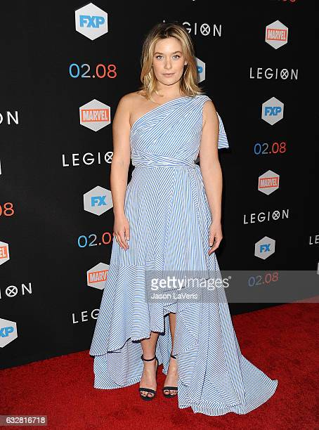 Actress Rachel Keller attends the premiere of 'Legion' at Pacific Design Center on January 26 2017 in West Hollywood California