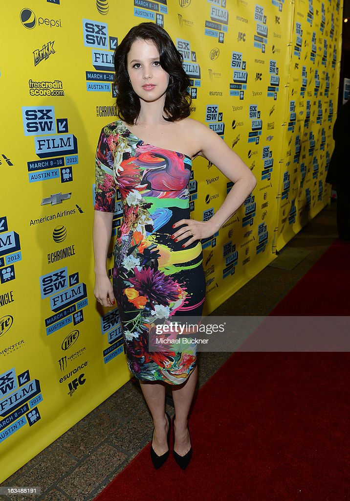 Actress Rachel Korine arrives at the premiere of 'Spring Breakers' during the 2013 SXSW Music, Film + Interactive Festival at Paramount Theatre on March 10, 2013 in Austin, Texas.