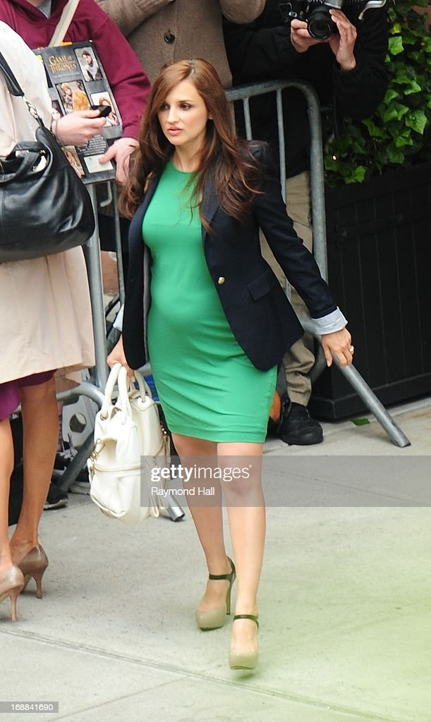 Actress Rachel Leigh Cook is seen outside 'Del Posto'on May 15, 2013 in New York City.