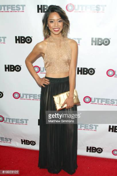 Actress Rachel Leyco attends the opening night gala of 'God's Own Country' at the 2017 Outfest Los Angeles LGBT Film Festival at Orpheum Theatre on...
