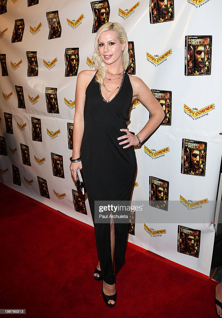 Actress Rachel Matisoff attends the Premiere of '6 Degrees Of Hell' at Laemmle's Music Hall 3 on November 20, 2012 in Beverly Hills, California.