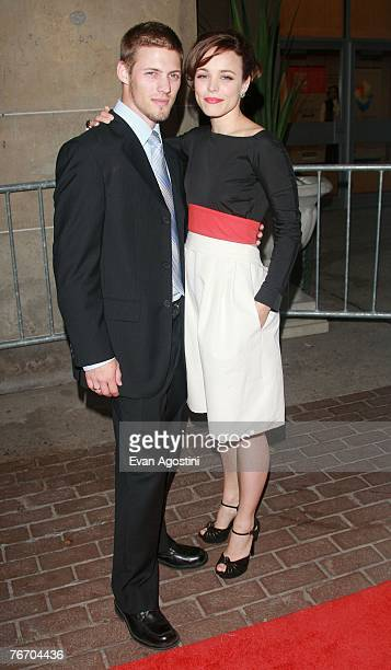 Actress Rachel McAdams and brother Daniel McAdams arrive at the 'Married Life' World Premiere screening during the Toronto International Film...