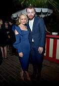 Actress Rachel McAdams and singer/songwriter Sam Smith attend Vanity Fair and Barneys New York Private Dinner Celebrating 'Spotlight' Director Tom...