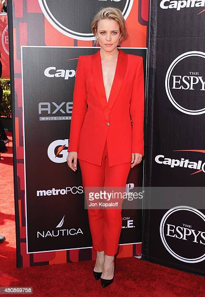 Actress Rachel McAdams arrives at The 2015 ESPYS at Microsoft Theater on July 15 2015 in Los Angeles California