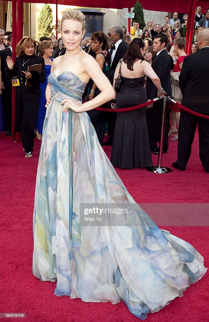 Actress Rachel McAdams arrives at the 82nd Annual Academy Awards held at the Kodak Theatre on March 7 2010 in Hollywood California