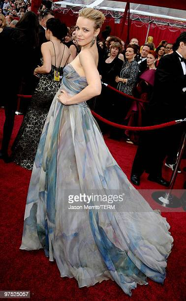 Actress Rachel McAdams arrives at the 82nd Annual Academy Awards held at Kodak Theatre on March 7 2010 in Hollywood California