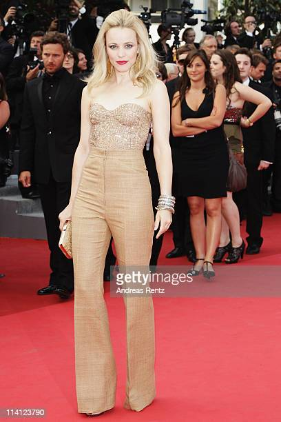 Actress Rachel McAdams arrives at the 'Sleeping Beauty' premiere during the 64th Annual Cannes Film Festival at the Palais des Festivals on May 12...