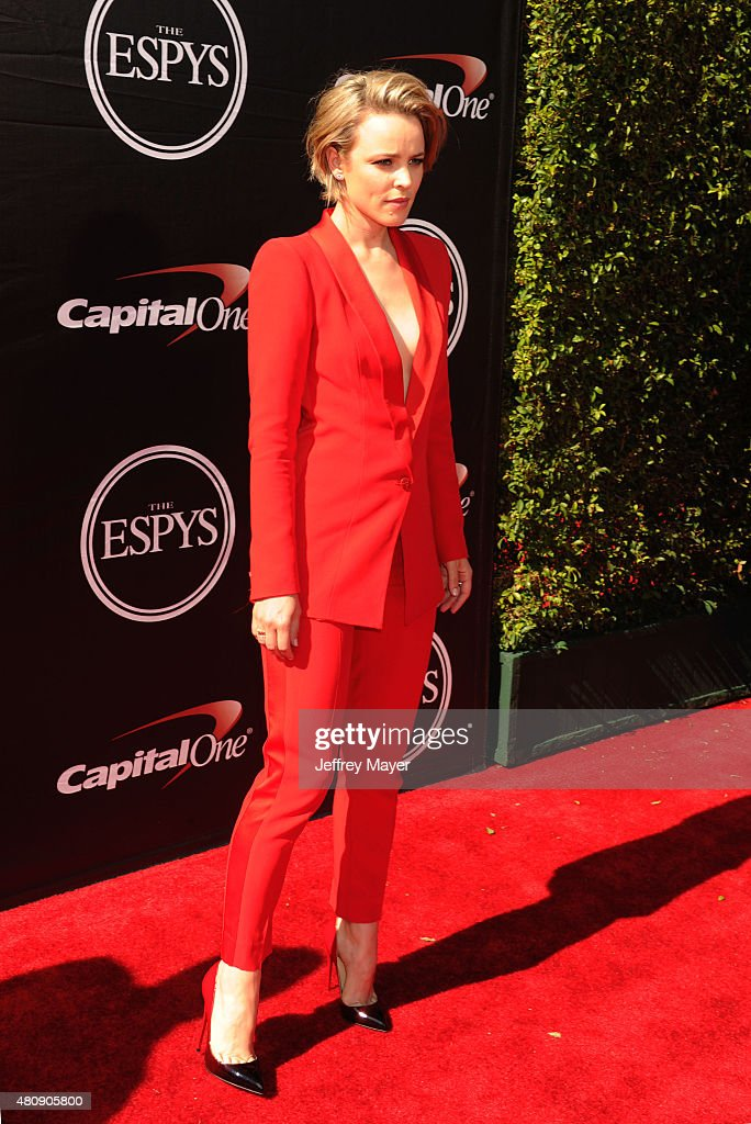 Actress Rachel McAdams arrives at the The 2015 ESPYS at Microsoft Theater on July 15, 2015 in Los Angeles, California.