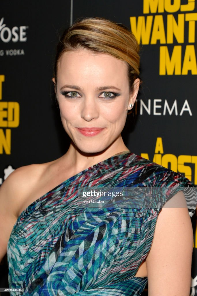 Actress Rachel McAdams attends Lionsgate and Roadside Attraction's premiere of 'A Most Wanted Man' hosted by The Cinema Society and Montblanc at...
