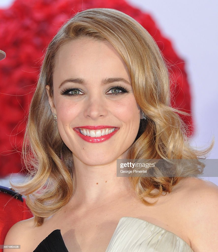 Actress Rachel McAdams attends the 2014 Canada's Walk Of Fame Awards at the Sony Centre on October 18 2014 in Toronto Canada