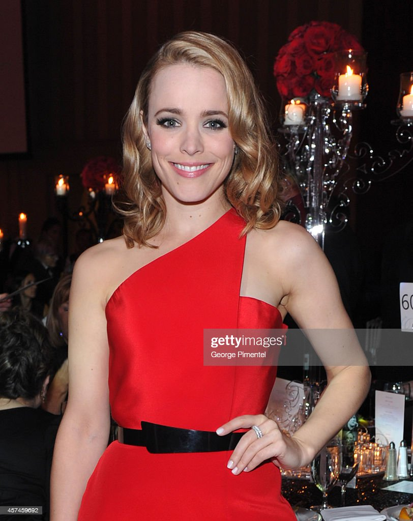 Actress Rachel McAdams attends the 2014 Canada's Walk Of Fame Gala at Sheraton Centre Toronto Hotel on October 18 2014 in Toronto Canada