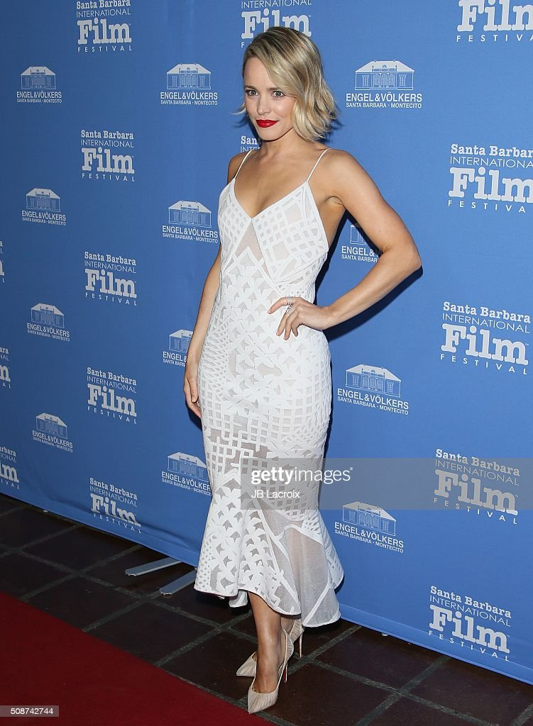 Actress <a gi-track='captionPersonalityLinkClicked' href=/galleries/search?phrase=Rachel+McAdams&family=editorial&specificpeople=212942 ng-click='$event.stopPropagation()'>Rachel McAdams</a> attends the 31st Santa Barbara International Film Festival on February 5, 2016 in Santa Barbara, California.