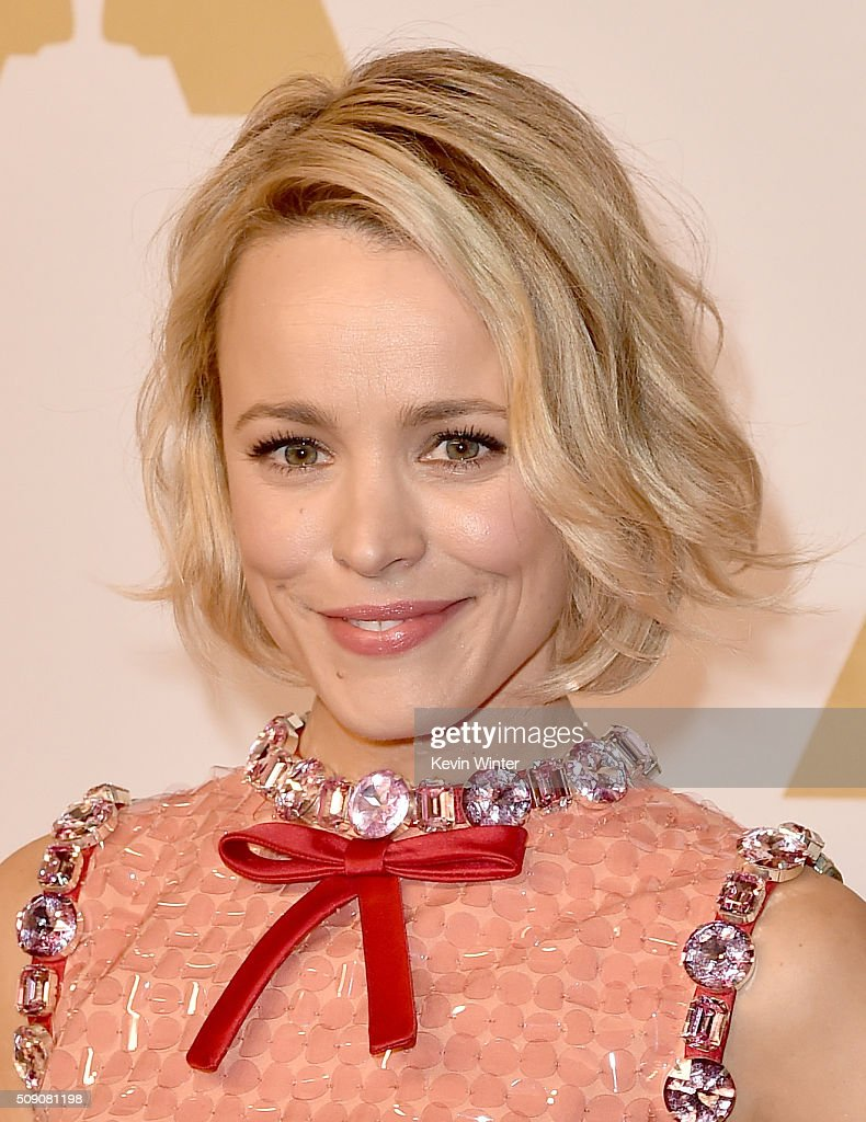 Actress <a gi-track='captionPersonalityLinkClicked' href=/galleries/search?phrase=Rachel+McAdams&family=editorial&specificpeople=212942 ng-click='$event.stopPropagation()'>Rachel McAdams</a> attends the 88th Annual Academy Awards nominee luncheon on February 8, 2016 in Beverly Hills, California.