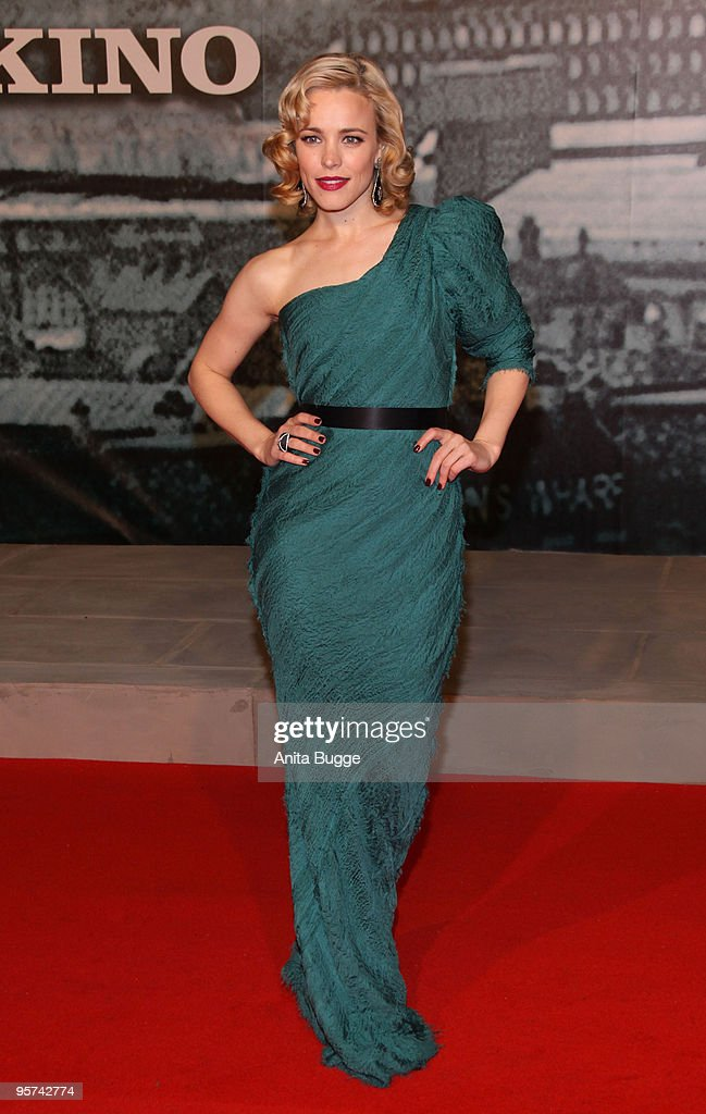 Actress Rachel McAdams attends the 'Sherlock Holmes' German Premiere at the CineStar movie theater on January 12, 2010 in Berlin, Germany.