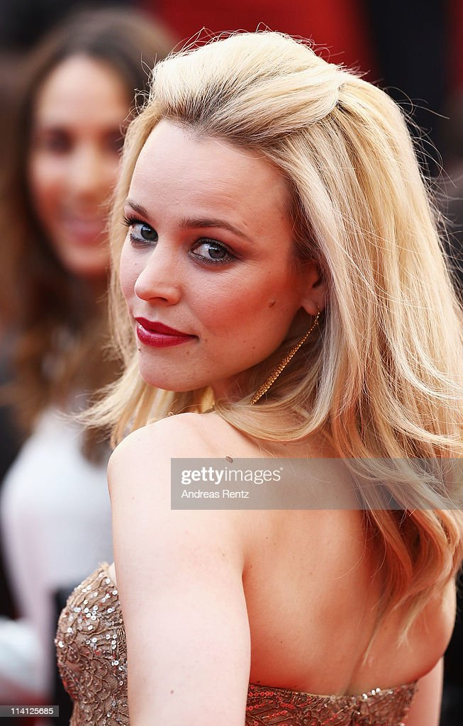 Actress <a gi-track='captionPersonalityLinkClicked' href=/galleries/search?phrase=Rachel+McAdams&family=editorial&specificpeople=212942 ng-click='$event.stopPropagation()'>Rachel McAdams</a> attends the 'Sleeping Beauty' premiere during the 64th Annual Cannes Film Festival at the Palais des Festivals on May 12, 2011 in Cannes, France.